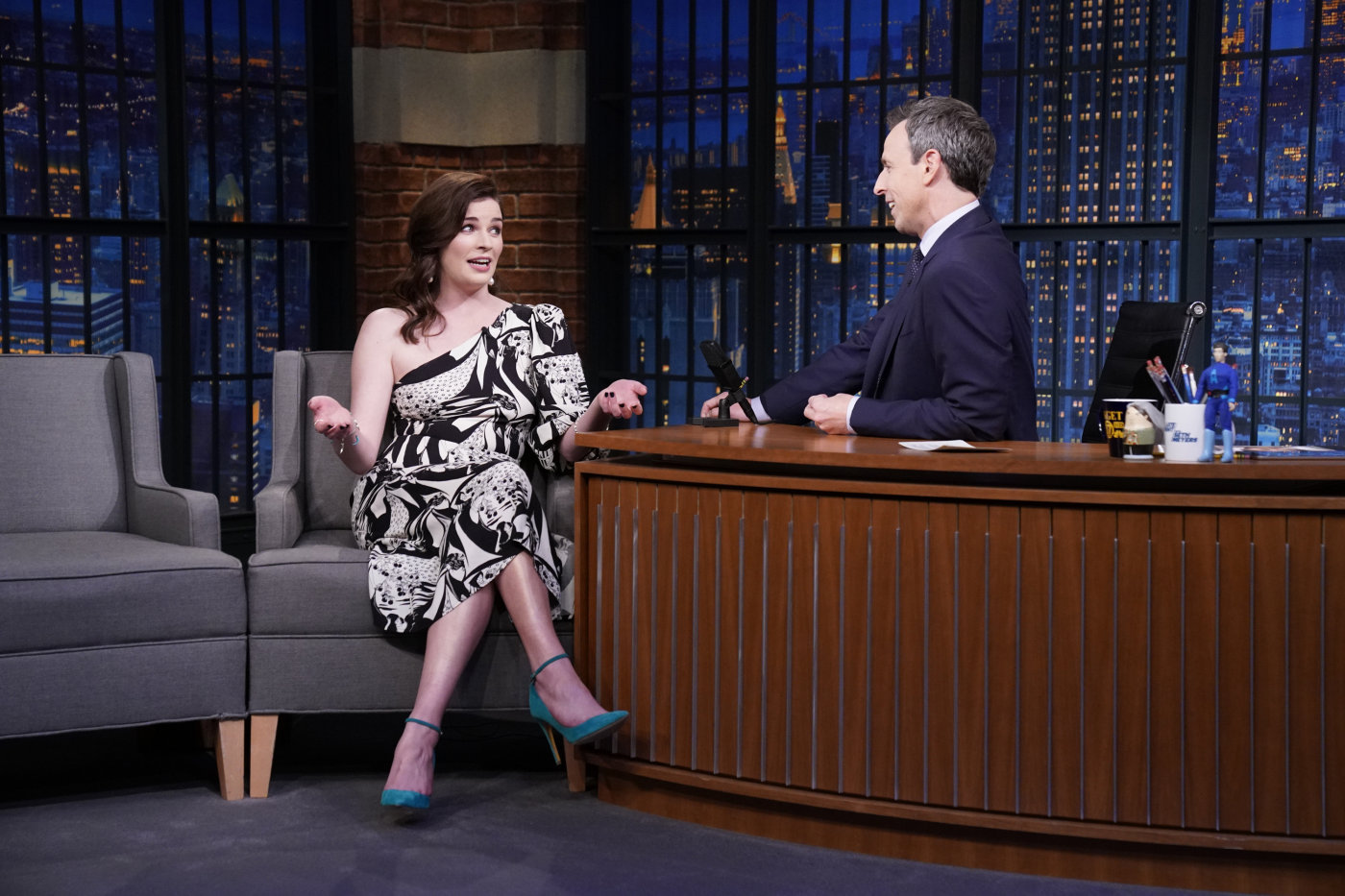 Aisling appears on Late Night with Seth Meyers  - December 9th, 2019
