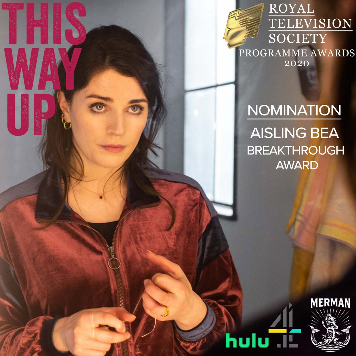 Aisling Bea nominated for Breakthrough Award  - March 3rd, 2020