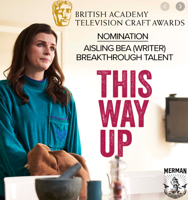 Aisling Bea nominated for BAFTA Breakthrough Talent Award  - June 4th, 2020