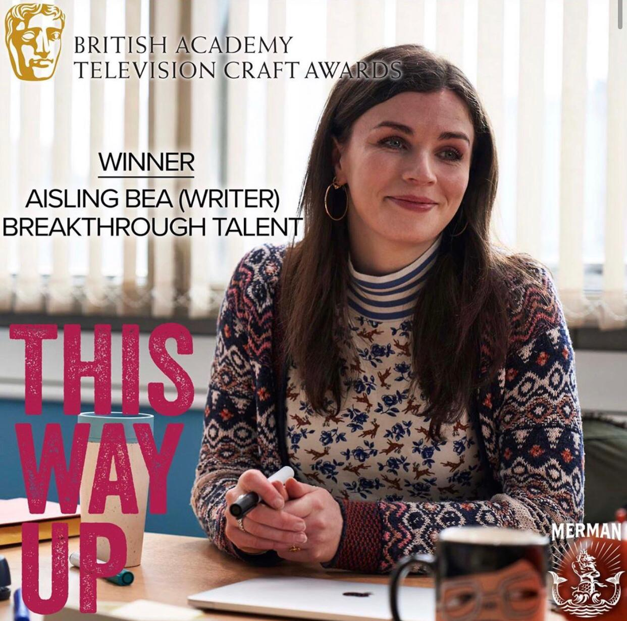 Aisling Bea wins BAFTA Breakthrough Talent Award 2020  - July 17th, 2020
