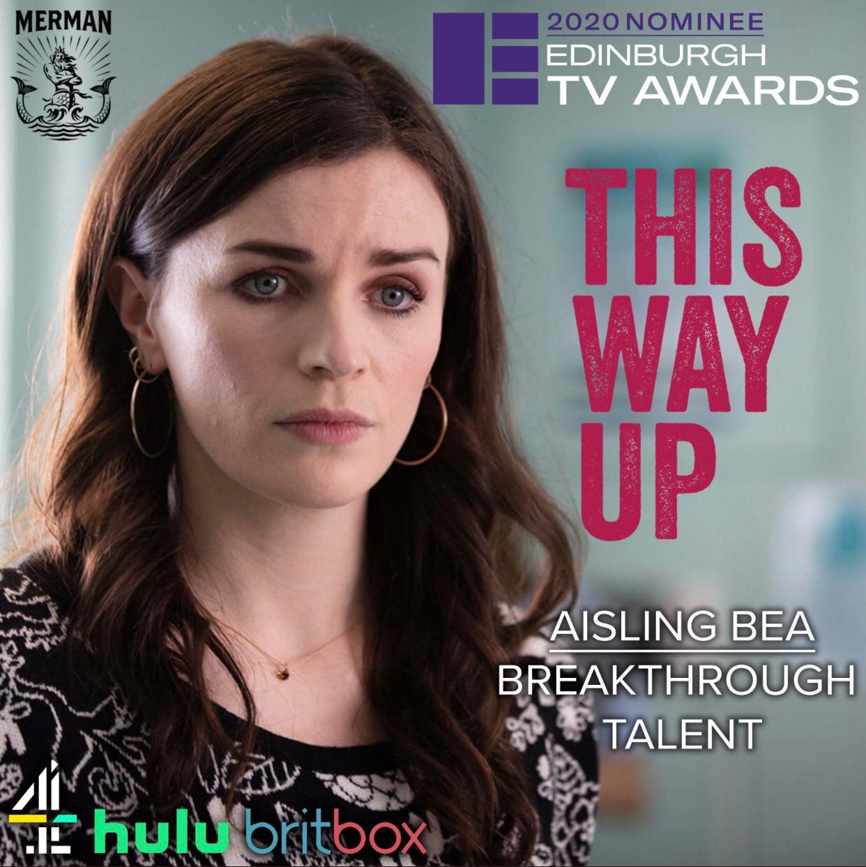 Aisling Bea Nominated for Breakthrough Talent Award  - August 26th, 2020